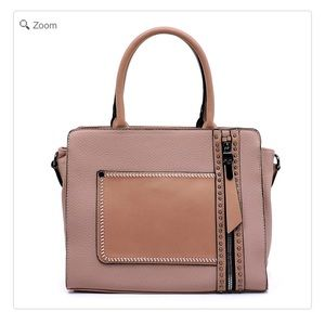 Handbags - NEW Fashion Zip Boxy Satchel